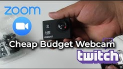 The Cheapest Webcam You Can Buy - Isn't A Webcam