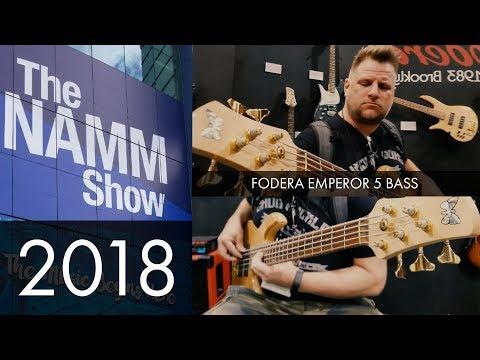 Download Youtube: QUICKVID - NAMM 2018: Fodera Emperor 5 Bass