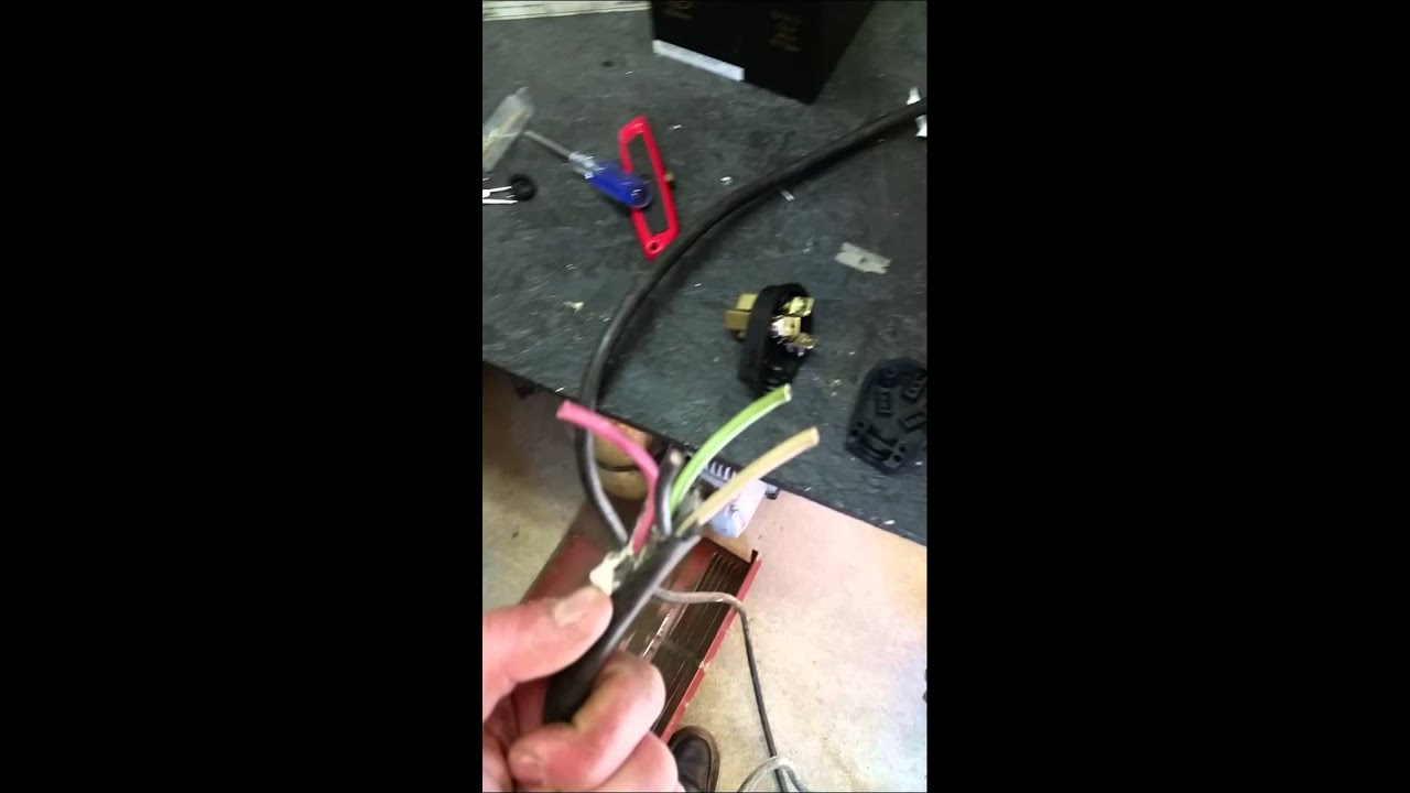 maxresdefault lincoln ac 225 new cables installation youtube 220 Volt Motor Wiring Diagram at edmiracle.co