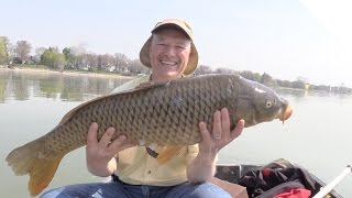 Easy Carp Fishing Tips - Simple Bite Detection Tips and Huge Carp Catching Action
