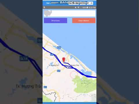[React Native] Demo Direction Google Maps