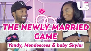 vh1 love hip hops yandy and mendeecees and baby skylar play the newlywed game us weekly