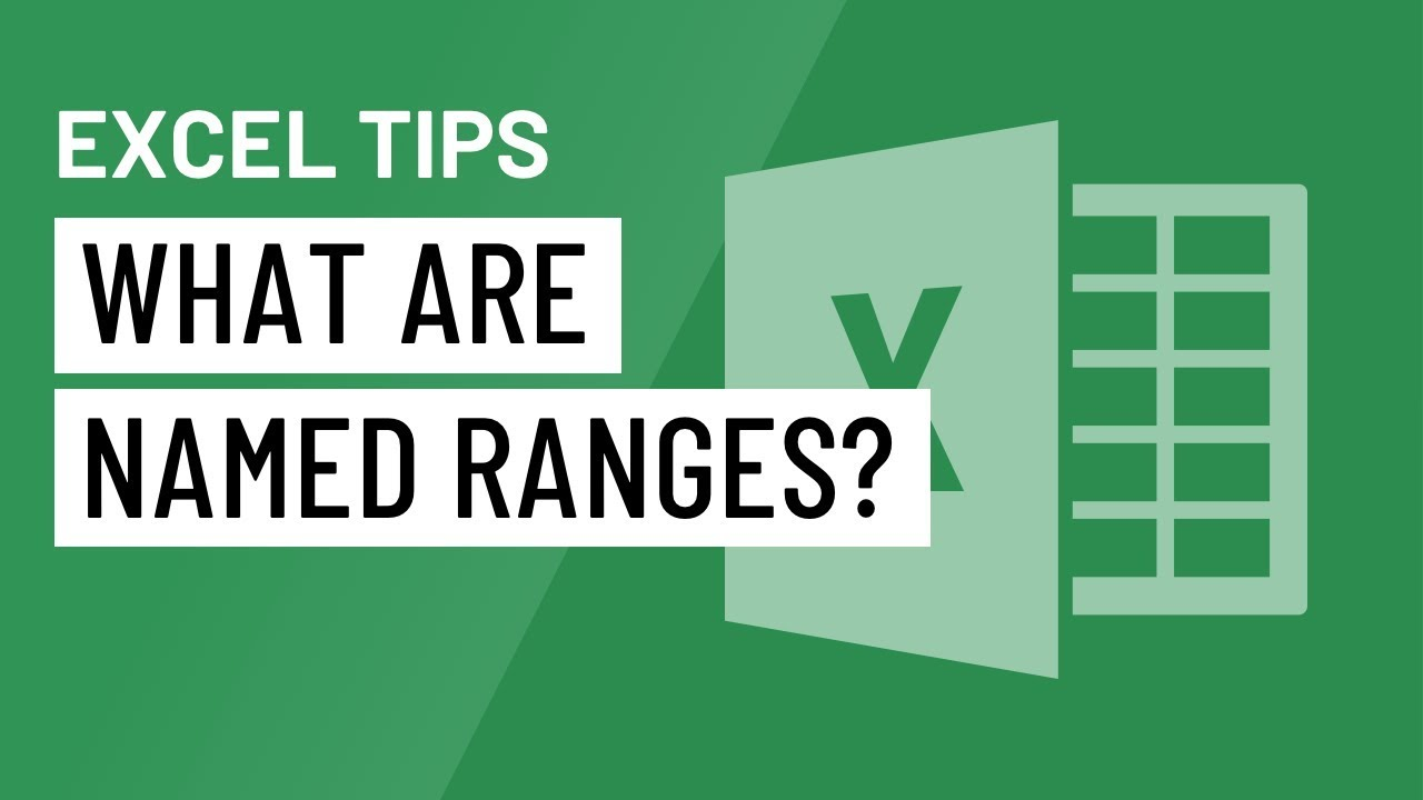 Excel Quick Tip: What are Named Ranges?
