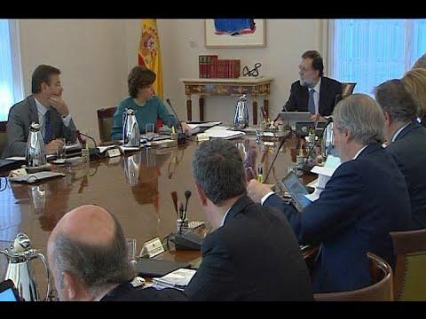 El Gobierno se reúne en Consejo de Ministros extraordinario