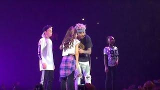 Justin Bieber Purpose Tour Houston - Children