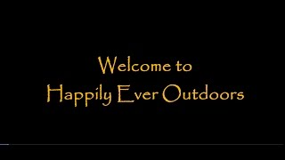Happily Ever Outdoors Trailer