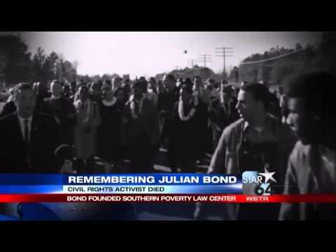 Julian Bond, former NAACP chairman and activist, dies at 75