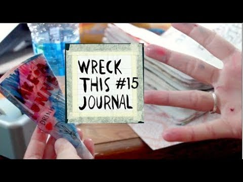 Wreck This Journal 15: Journal Golf, Drinking Water, Sewing