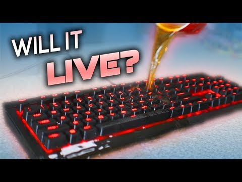 Corsair K68 Keyboard Review - Can it survive?