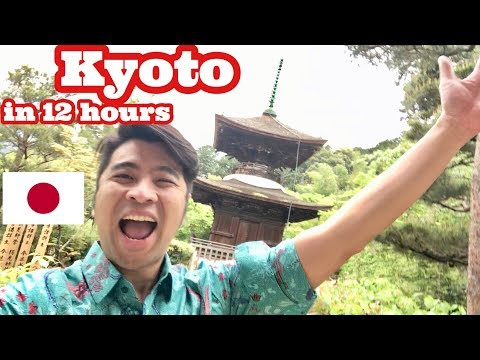 🍣 KYOTO JAPAN IN 12 hours with ATLANTIS CRUISE 🚢🇯🇵
