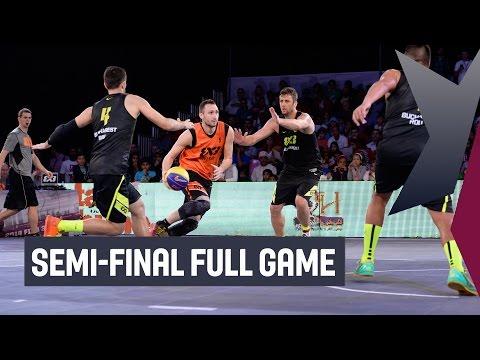 Novi Sad (SRB) vs Bucharest (ROU) - Semi-Final Full Game - 2014 FIBA 3x3 All Stars