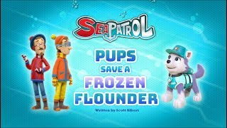 Щенячий патруль | 4 сезон 22 серия (А) | Sea Patrol:Pups Save a Frozen Flounder