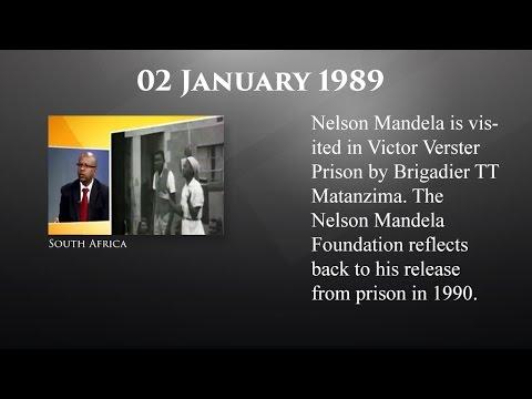 The Mandela Diaries: 02 January 1989