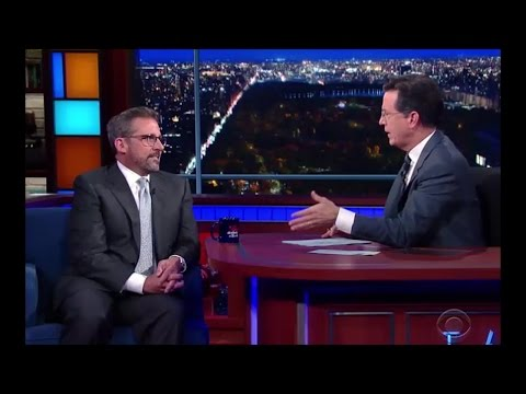Stephen Colbert and Steve Carell Reminisce about Novell