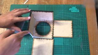 How To Make A Mini Subwoofer Box Part 1 (bluetooth)
