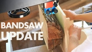 Bandsaw Update & a Couple Jig ideas