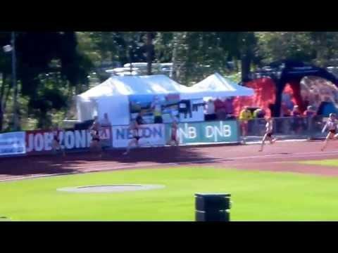200m kvinner finale  - NM Tønsberg 2013