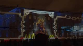 Новогоднее шоу на Дворцовой