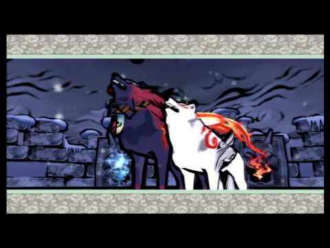We Play Okami HD - Part 27 - Lechku and Nechku Boss Fight Wawku Shrine