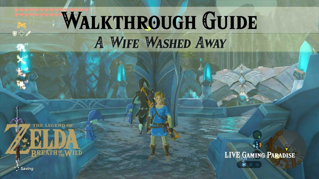 Breath Of The Wild A Wife Washed Away Walkthrough Guide Youtube He was no match for my aunt. breath of the wild a wife washed away walkthrough guide
