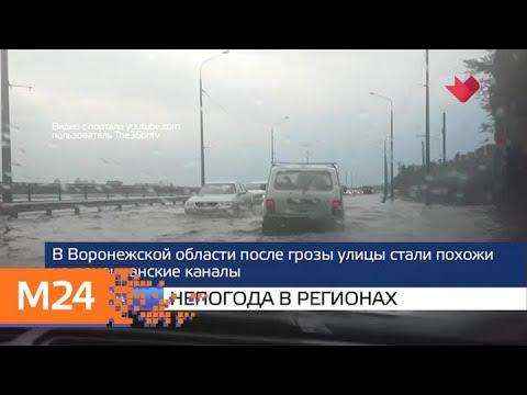 """""""Москва и мир"""": строительство МЦД и непогода в регионах - Москва 24"""