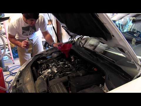 How To Change Oil In A 2008-2014 Volkswagen VW Jetta TDI 2.0L
