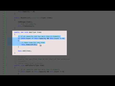 Defining your own generic type in C#