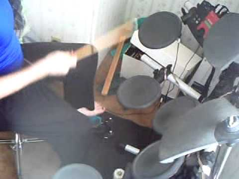 Stand Up (Kick Love Into Motion) by Def Leppard Drum Cover