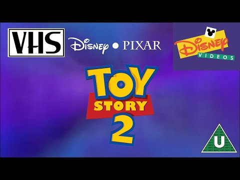Opening To Toy Story 2 UK VHS (2000)