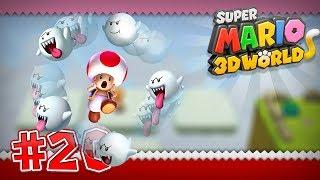Super Mario 3D World Wii U - World Flower -1, Flower-2, Flower-3, Flower-4, Flower-5, Flower-6