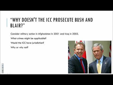 The International Criminal Court: ICL History And Institutions Part II