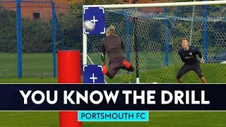 Jimmy Bullard scores sensational diving header! | You Know The FIFA Drill | Portsmouth