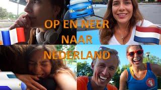 Lotte VLOG #4 - Op en neer naar Nederland! | Team4Animation