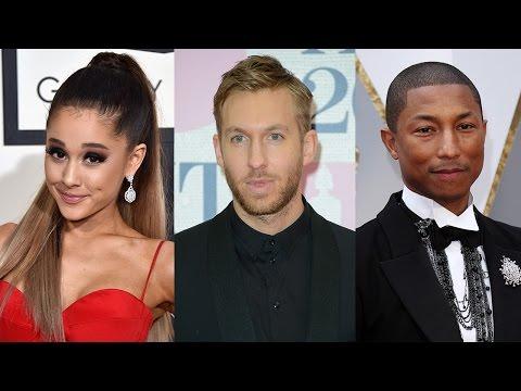 Ariana Grande Teams Up With Calvin Harris & Pharrell For New Single