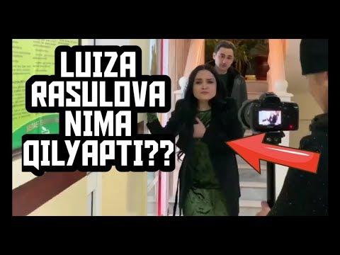 Luiza Rasulova nima qilyapti?? Kinoga olish jarayoni !!