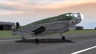 """Focke-Wulf  VTOL """"Flat Riser"""" Project - Animation - Available As An Ebook From Amazon ..."""