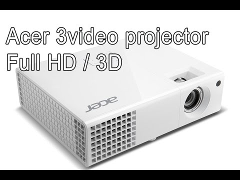 Acer Video projector 3D Full HD - H6510BD, full review, tips for lamp life, watching movies - PART 1