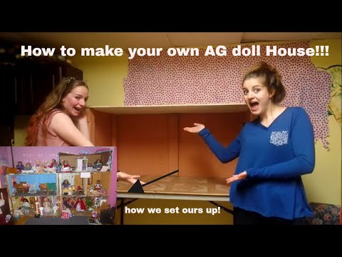 How To Build Your Own American Girl Doll House!!