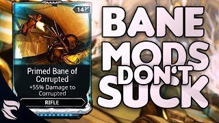 Warframe: Why Primed Bane Mods Don't Suck