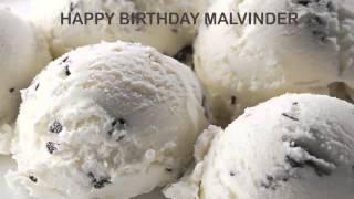 Malvinder   Ice Cream & Helados y Nieves - Happy Birthday