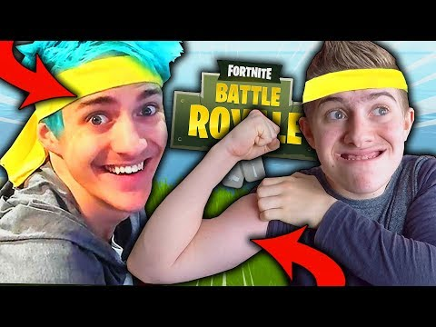 JE ME SUIS CRU PLUS FORT QUE NINJA SUR FORTNITE BATTLE ROYALE !!!