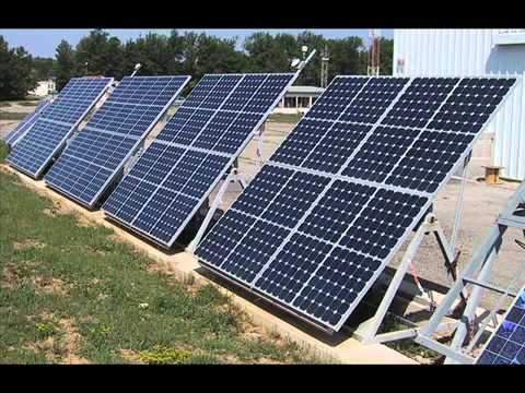 L' énergie éolienne et l' énergie solaire