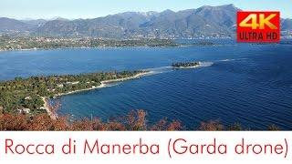 Rocca di Manerba (4k drone lago di Garda)