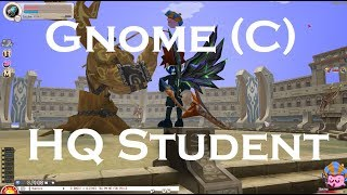 Seal Online (Berserker) Gnome C Raid with HQ Student Armor