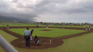 MBL Summer 2018 Bronco Division - Kahului Giants Gray vs Pono Braves Blue