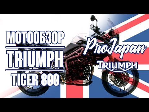 Triumph Tiger 800.