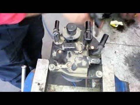 Changement Filtre a Gasoil  Sur Peugeot Citroen 1.6 HDI