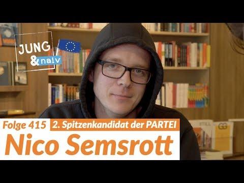 Nico Semsrott (Die PARTEI) über seine Politik - Jung & Naiv: Folge 415