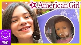 EMMA GETS A NEW AMERICAN GIRL DOLL AT AMERICAN GIRL PLACE NYC!      KITTIESMAMA 51