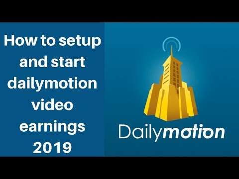 How to setup and start dailymotion video earnings 2019 | Digital Marketing Tutorial